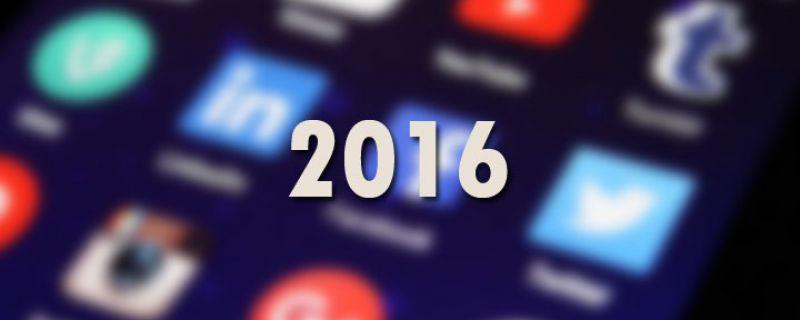 3 Tendencias para Redes Sociales en 2016